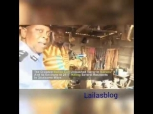 Watch Video Showing Shrine Of Baddo Ritualist Arrested By Police
